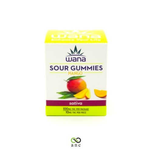 Mango Gummies 100mg Sativa