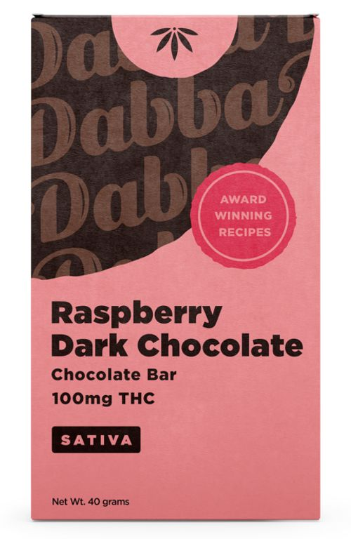Dabba Raspberry Dark Chocolate (S)