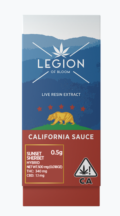 Legion Of Bloom-CA SAUCE Sunset Sherbet 0.5g
