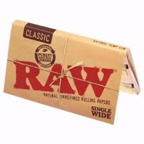 TMQ-#40 Raw Classic Single Wide (100 Papers)