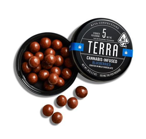 Kiva-Terra Blueberries 100mg