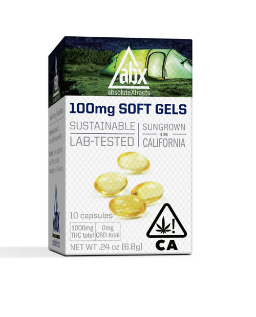 ABX-Soft Gels 100mg THC 10ct