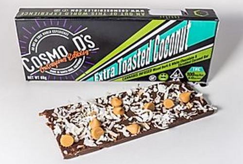 Cosmo D's-Extra Toasted Coconut 100mg