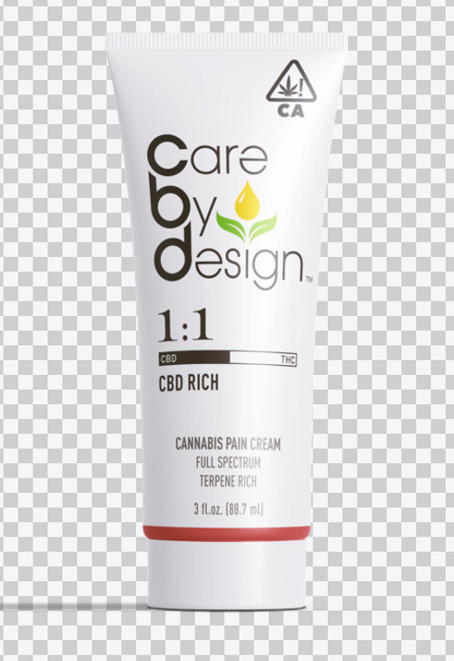 Care By Design-Pain Cream 1:1 3 fl oz