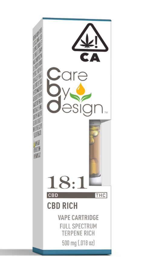 Care By Design-18:1 Cart 0.5g