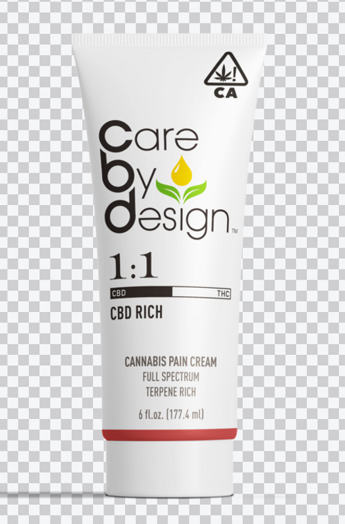Care By Design-Pain Cream 1:1 6 fl oz