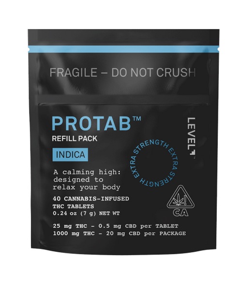 Level-Indica Protab 1g Refill Pack