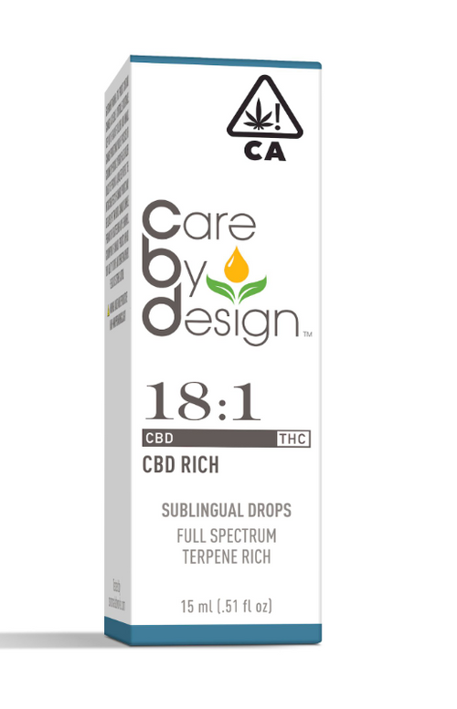 Care By Design-18:1 Drops 15ml