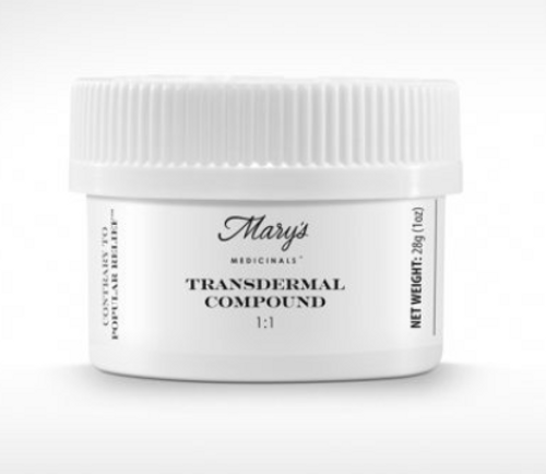 Mary's Medicinals-1:1 Transdermal Compound Mini