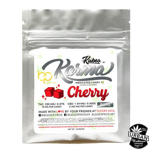 Karma Kubes - Cherry 200mg