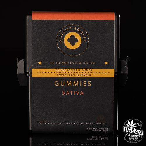 District Gummies - Tropical Punch (Sativa) 200mg