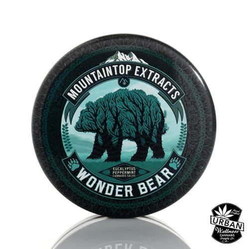 MT - Wonder Bear Salve 200mg THC
