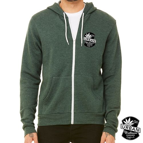 Urban - Green Hoodie Small