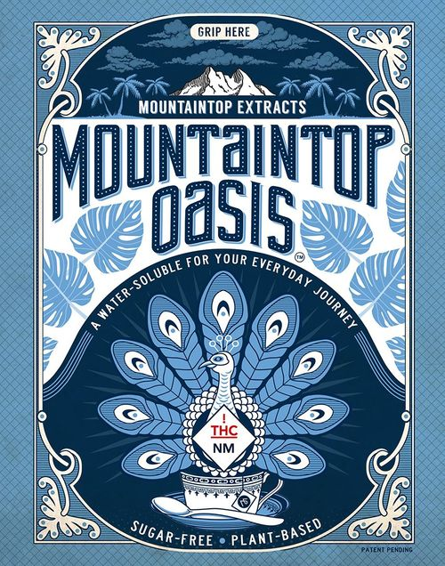 Mountaintop Oasis 250mg/50mg CBD