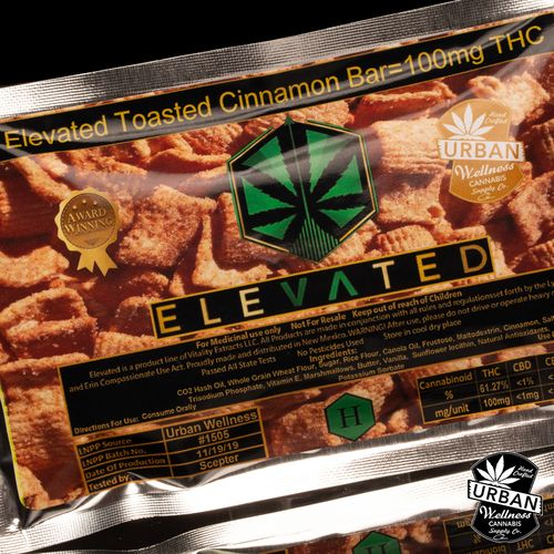 Toasted Cinnamon Bar (100mg)